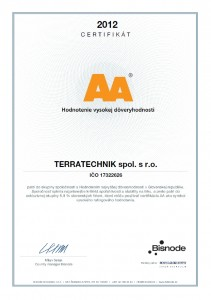 Terratechnik_certifikat_AA_SK